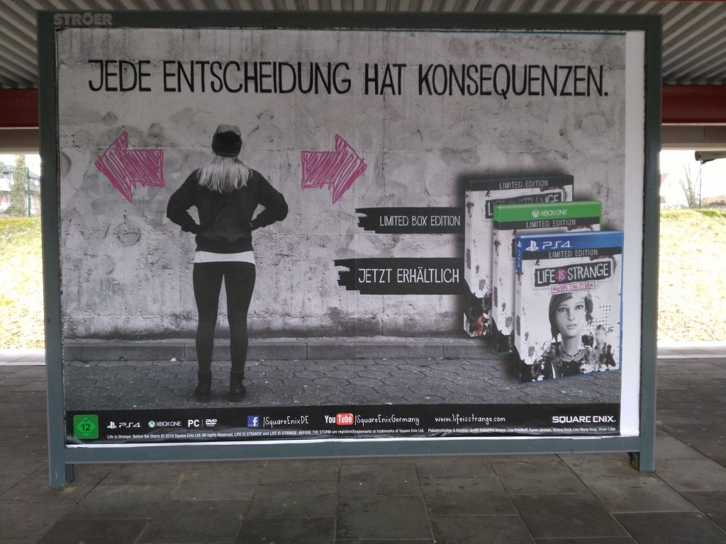 Werbung: Life is Strange